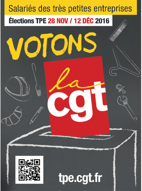 Elections TPE 2016 CGT