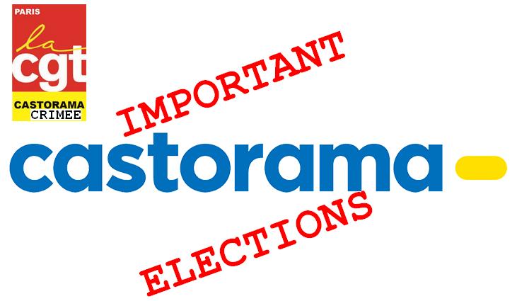 Castorama Crimée élections des délégués du personnel et au comité d'entreprise 19 décembre 2016