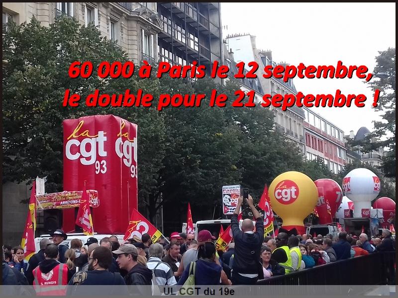Non aux ordonnances Macron-12 septembre 2017