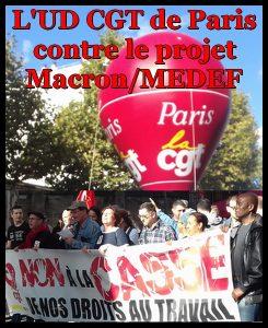 19 octobre 2017 - Mobilisation contre les ordonnances Macron